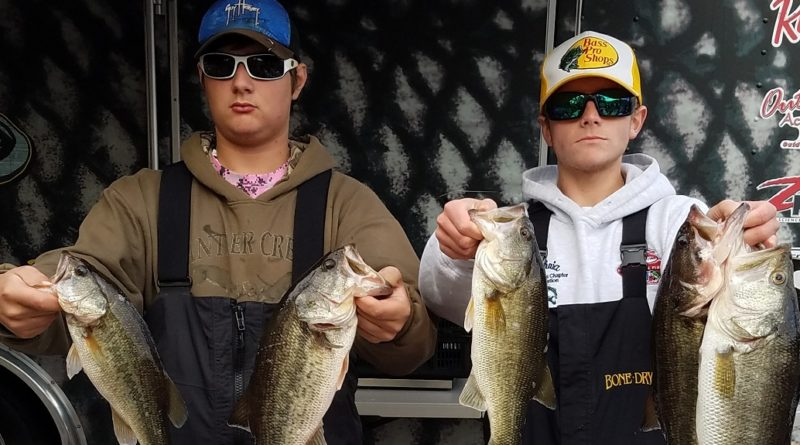 Jennings & Patterson Claim NC BASS High School East Division Victory