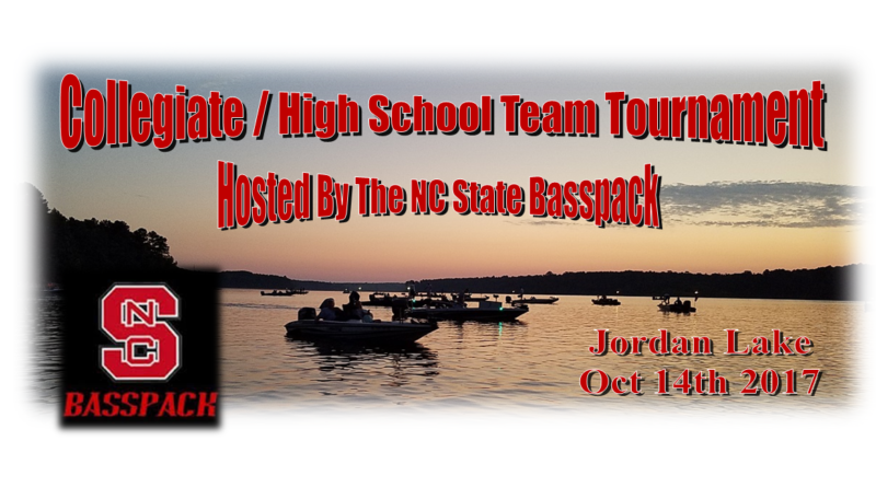 Collegiate/High School Team Tournament – Hosted By The NCSU Basspack